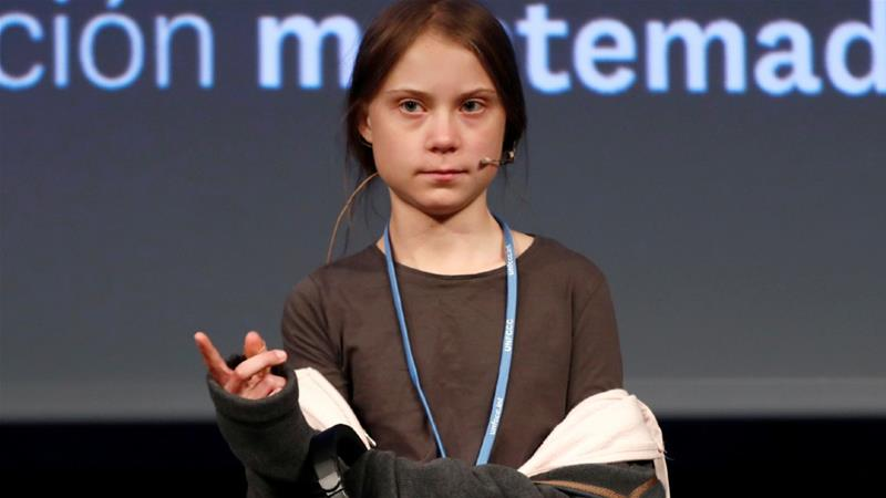 Greta Thunberg has spearheaded a global youth movement campaigning for climate justice [Sergio Perez/Reuters]
