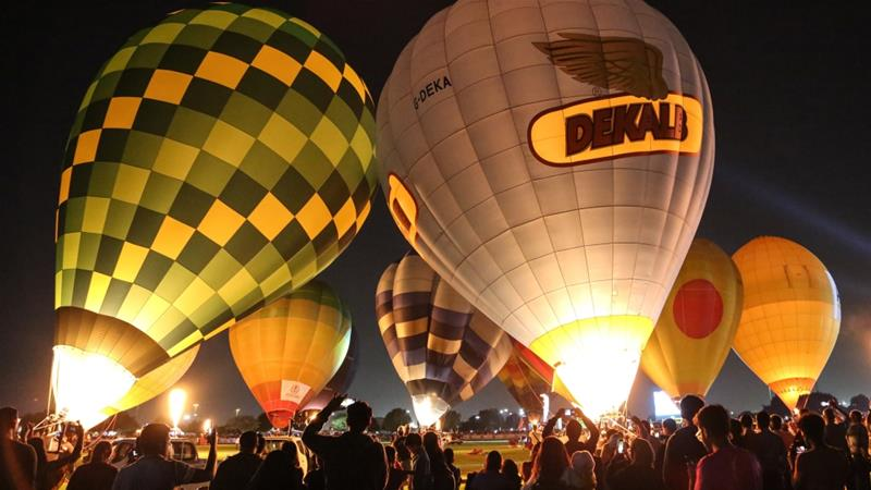 Qatar's first hot-air balloon festival kicks off in Doha