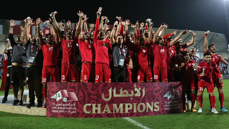 Bahrain ended a 49-year wait to clinch their first title at the regional tournament [Showkat Shafi/Al Jazeera]
