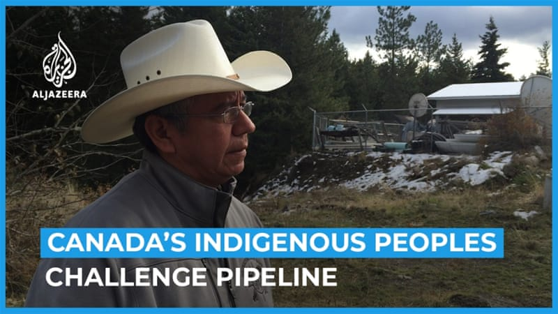 Indigenous peoples in Canada challenge Trans Mountain pipeline