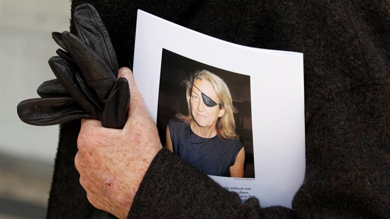 US court finds Syria liable for journalist's killing