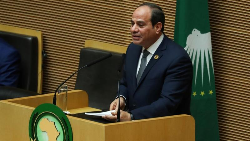 Image result for Egypt's President Abdel Fattah al-Sisi elected as new chair of African Union