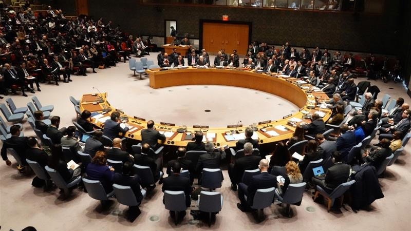 The UN Security Council meets to discuss the situation in Venezuela in New York [File: Carlo Allegri/Reuters]