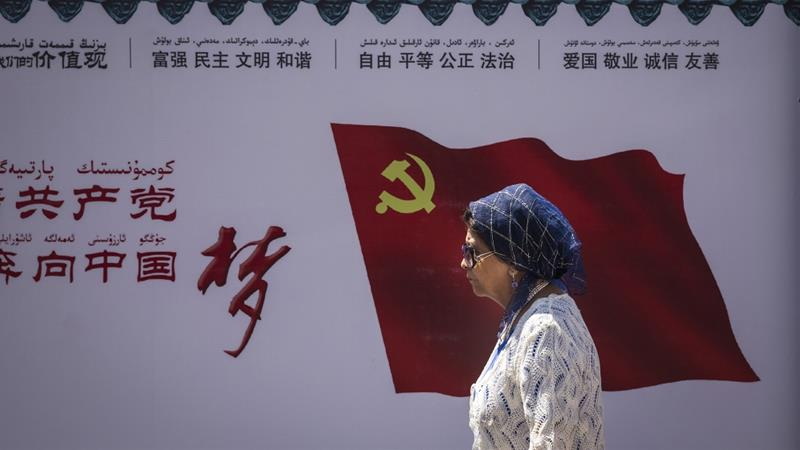 Last month, China passed a law to 'Sinicize' Islam and make it 'compatible with socialism' [Wang HE/Getty Images]