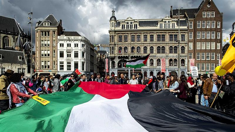 Before the new ruling Palestinians in the Netherlands had the option to list their birthplace as Israel or unknown [Koen van Weel/EPA]
