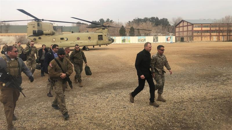 Acting Pentagon chief makes unannounced Afghanistan trip