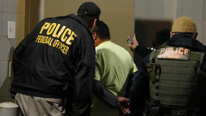 Democrats want to curb what they see as unnecessarily harsh enforcement by ICE [File: Steve Helber/The Associated Press]