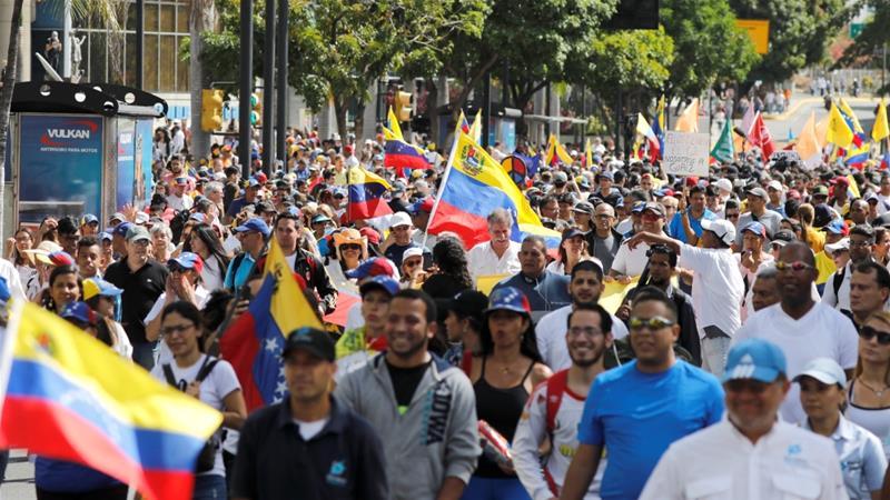 Venezuela's President Nicolas Maduro closes Brazil border to block aid entry