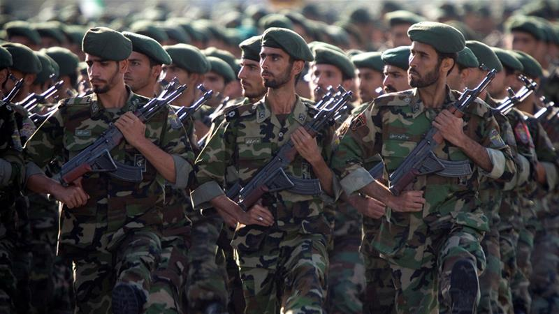 The US has already blacklisted dozens of entities for affiliations with the IRGC [File: Morteza Nikoubazl/Reuters]