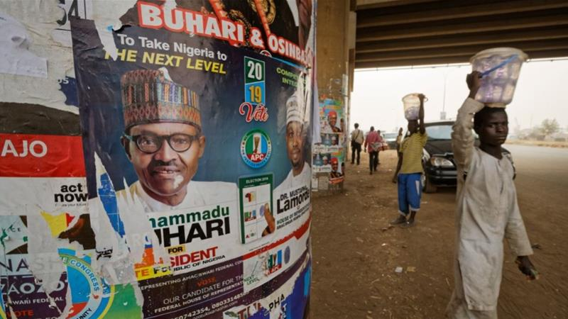 Voters in Nigeria, Africa's biggest democracy, will go to the polls on Saturday [Ben Curtis/The Associated Press]