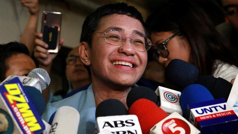 9095ed45c41c Mediagazer  Maria Ressa has been released after spending one night in NBI  custody and posting bail of 100K Philippine pesos