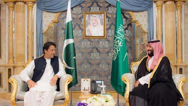 Image result for इमरान खान ने सऊदी अरब