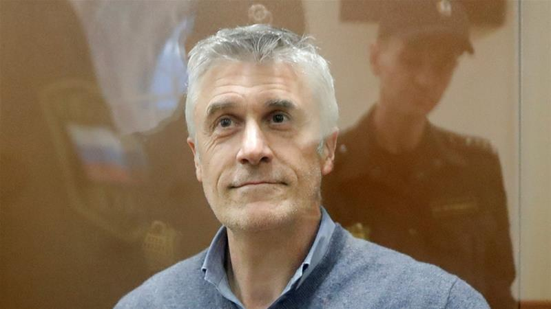 Michael Calvey denies wrongdoing and says charges are an instrument in a shareholder dispute [Tatyana Makeyeva/Reuters]