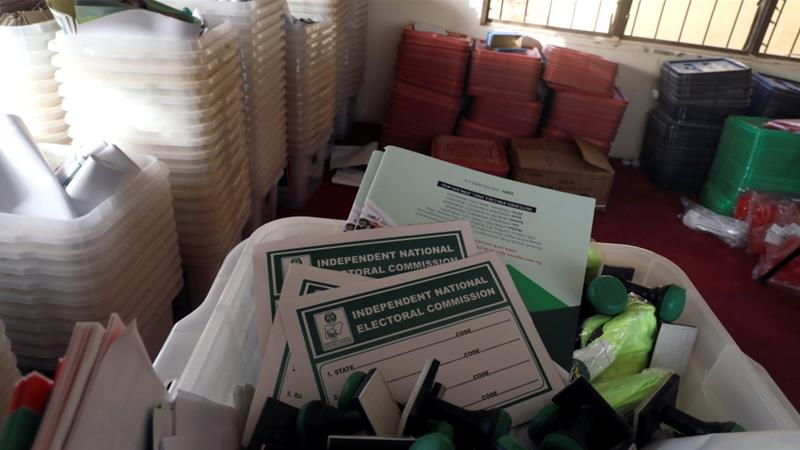 Nigeria electoral commission: polls delayed by transport problems