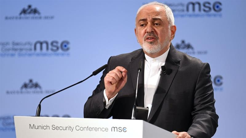 Iran's Foreign Minister Mohammad Javad Zarif said the EU needs to be willing to 'get wet' [Andreas Gebert/ Reuters]