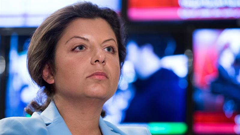 Simonyan said a report aired by CNN about the project led to Facebook's move [File: Alexander Zemlianichenko/AP]