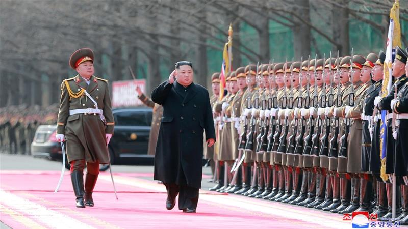 Kim Jong Un will meet the US president next week in Vietnam [KCNA via Reuters]