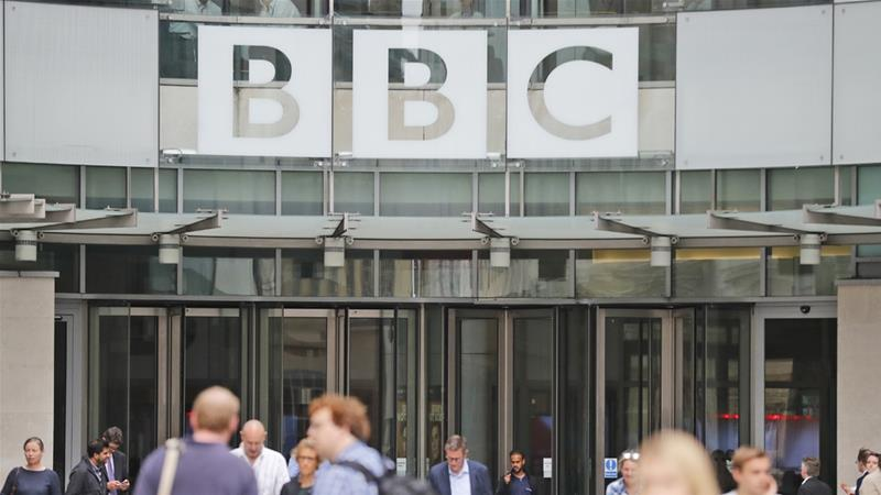 The BBC said it is 'committed' to hiring a diverse group of writers after the controversy erupted [Frank Augstein/AP]