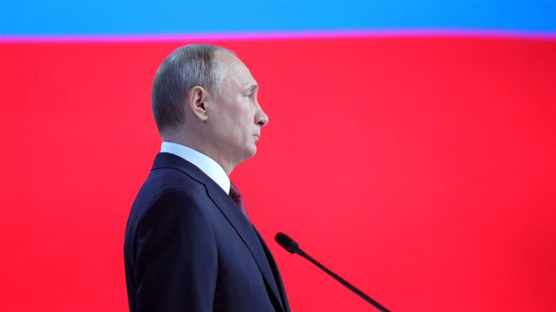 Putin warns US with new missiles aimed at Western capitals