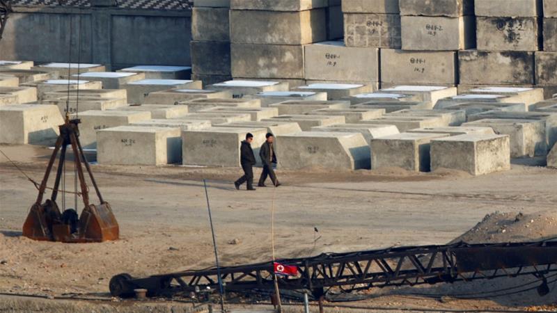 North Korea said it would import 200,000 tonnes of food [Jacky Chen/Reuters]