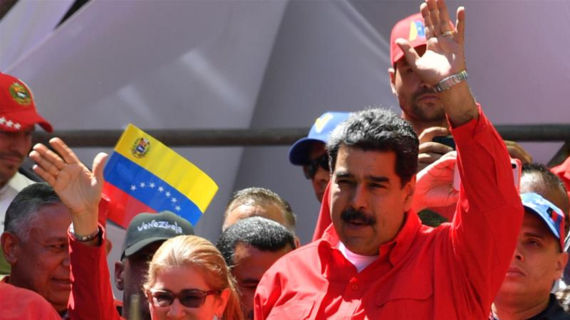 Maduro cuts ties with Colombia as protests rock Venezuela