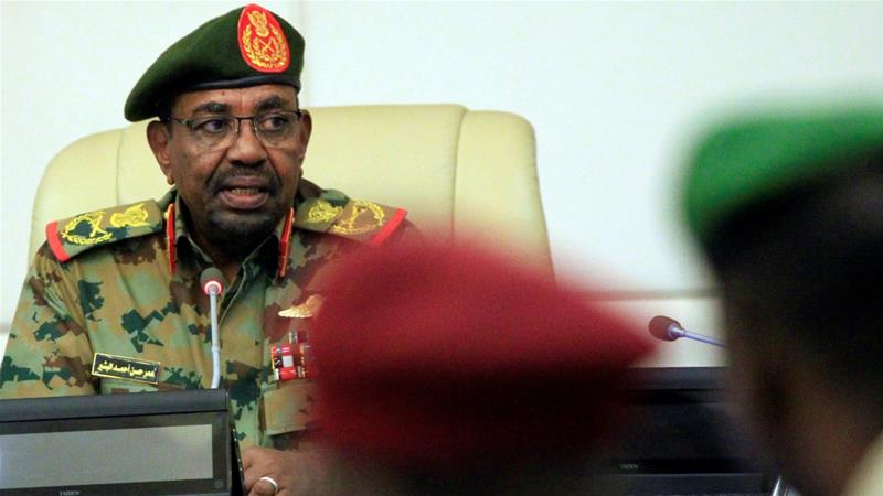 Sudan's Bashir bans protests in latest emergency measures