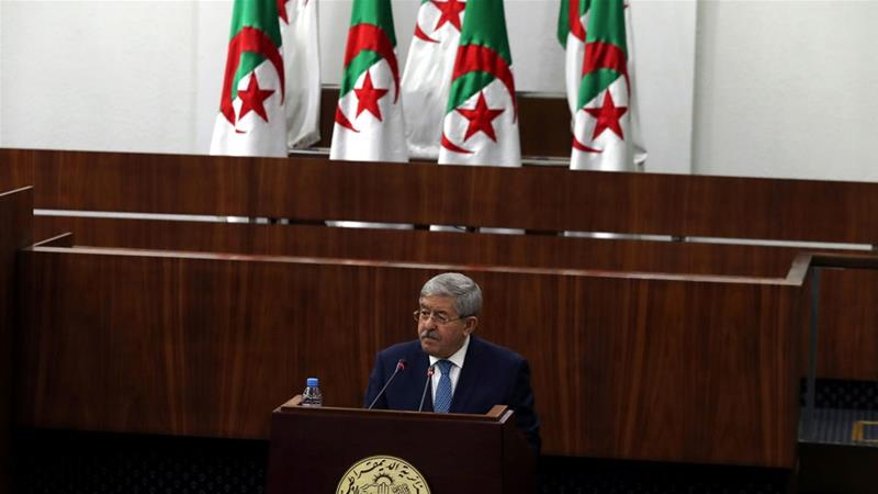Prime Minister Ahmed Ouyahia insisted elections were the only way to decide who would be president. [Mohamed Messara/EPA-EFE]