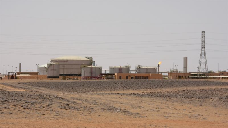 Murzuq is key to secure oilfields of el-Sharara and el-Feel (pictured) [File: Aidan Lewis/ Reuters]
