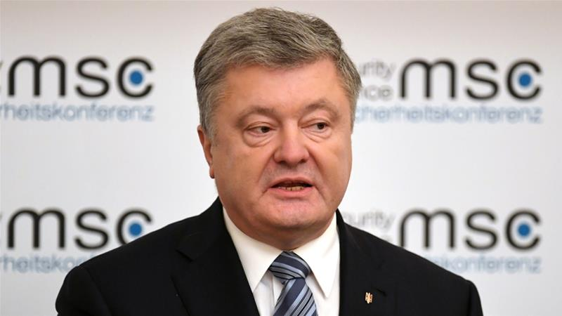 Poroshenko is seeking re-election in March's presidential election [File: Andreas Gebert/Reuters]