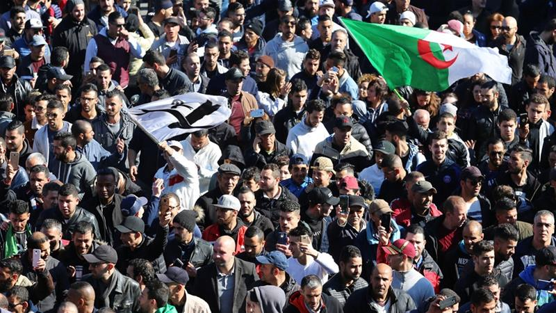 Students stage anti-Bouteflika protests in Algeria