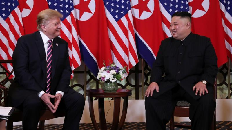 Trump meets Kim in Vietnam for second nuclear summit