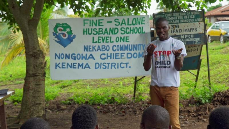 Tackling domestic violence: Inside Sierra Leone's Husband School