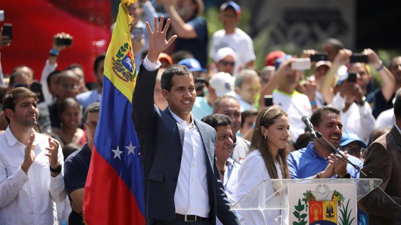 European nations recognise Guaido as Venezuela's acting president