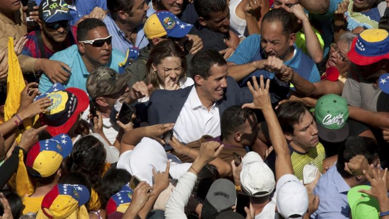 European Union  powers recognize Guaido as Venezuelan leader, demand free and fair elections