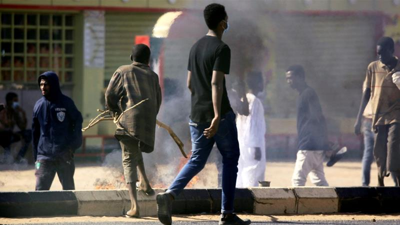 Deadly protests have rocked Sudan since December after cash-strapped Khartoum cut a vital subsidy on bread [Mohamed Nureldin Abdallah/Reuters]