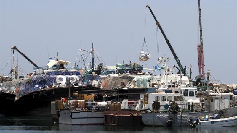 Paul Anthony Formosa, head of the P&O Ports operation in Bosaso port, was shot by two men disguised as fishermen [Feisal Omar/Reuters]