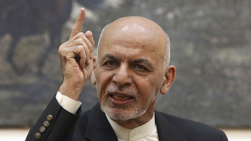 The Taliban has refused to talk to Ghani's government, which they denounce as a US puppet [Rahmat Gul/AP]
