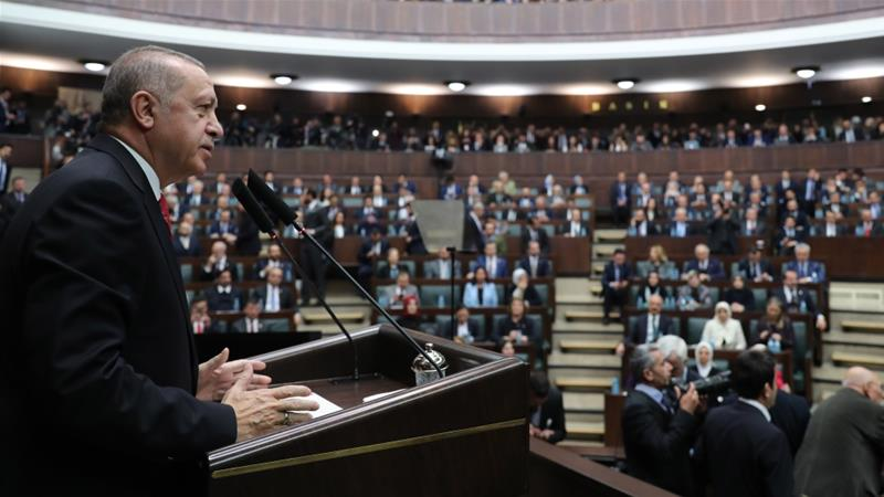 Erdogan: 'No satisfactory plan' with US on Syria safe zone