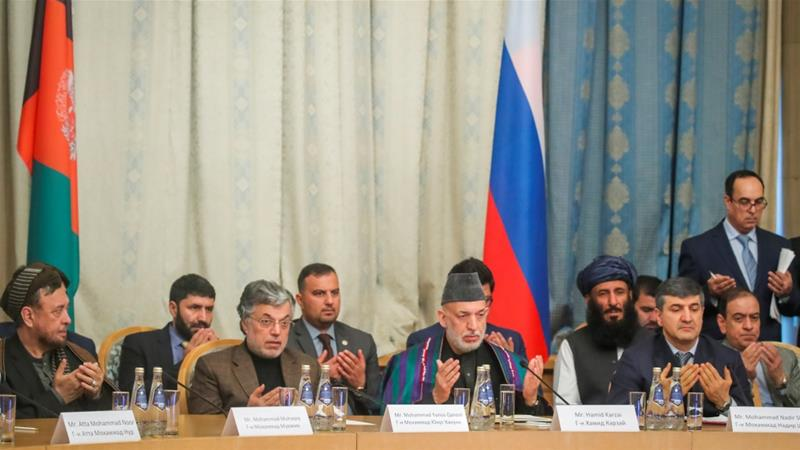 Taliban, Afghan opposition hold Moscow talks without