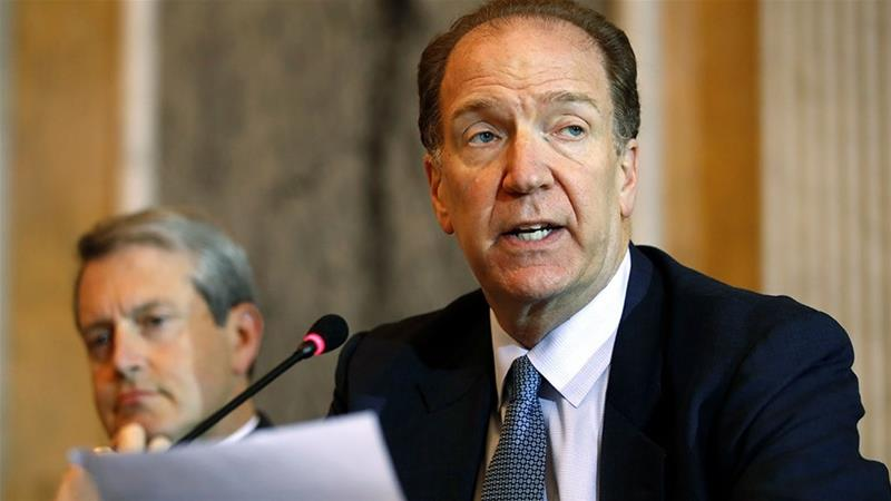 David Malpass, Under Secretary for International Affairs at the Treasury, speaks about Brexit [Jacquelyn Martin/AP Photo]