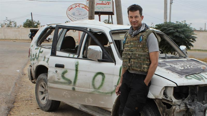 John Cantlie escaped abduction in Syria in August 2012  but was recaptured in November of that year. [AP]