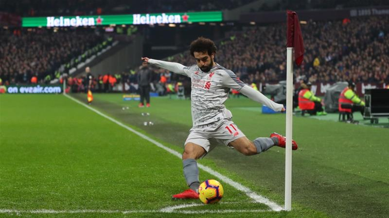 West Ham investigates 'racist abuse' of footballer Mohamed Salah