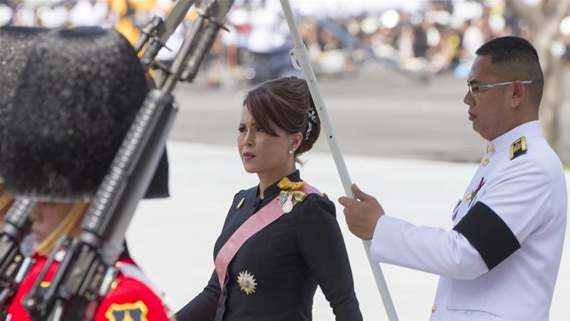 Thai Raksa Chart party suspends Princess Ubolratana's campaign