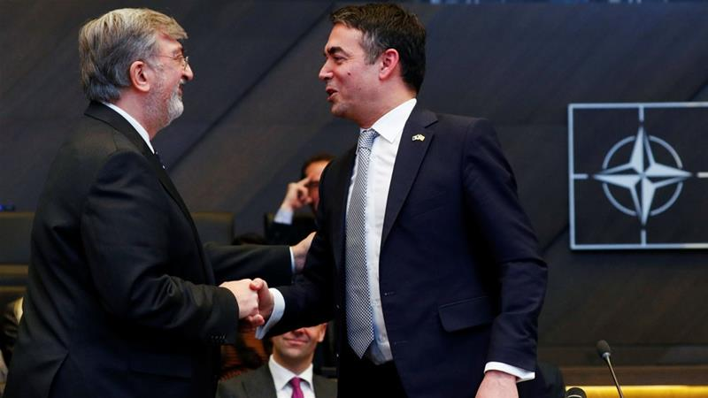 Greece OK's Macedonia membership in NATO