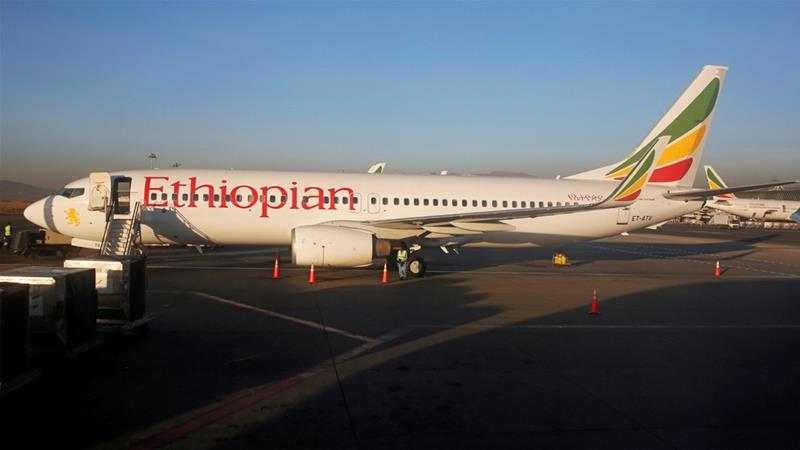 Ethiopian Airlines Bound to Nairobi Crashes
