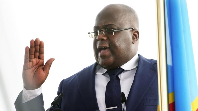 Tshisekedi signed the decree, fulfilling a promise he made earlier this month to do so during his first 100 days in office [Jerome Delay/AP]