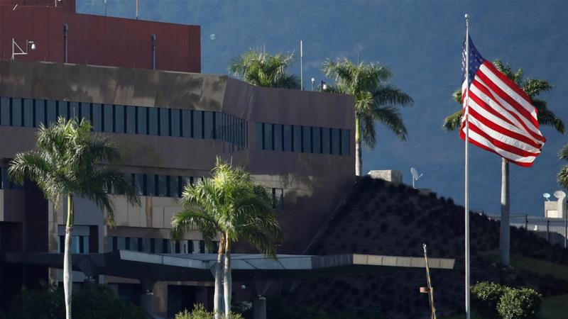 US Diplomats Leave Venezuela 'For The Time Being'