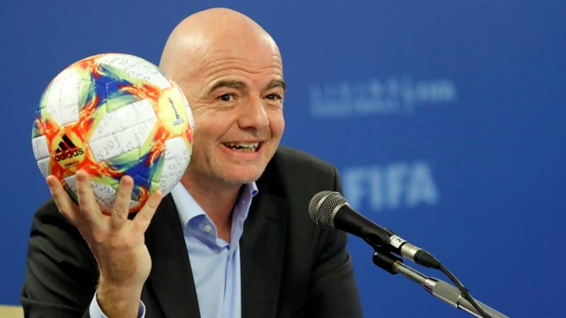 Infantino previously denied any wrongdoing [File: Remo Casilli/Reuters]
