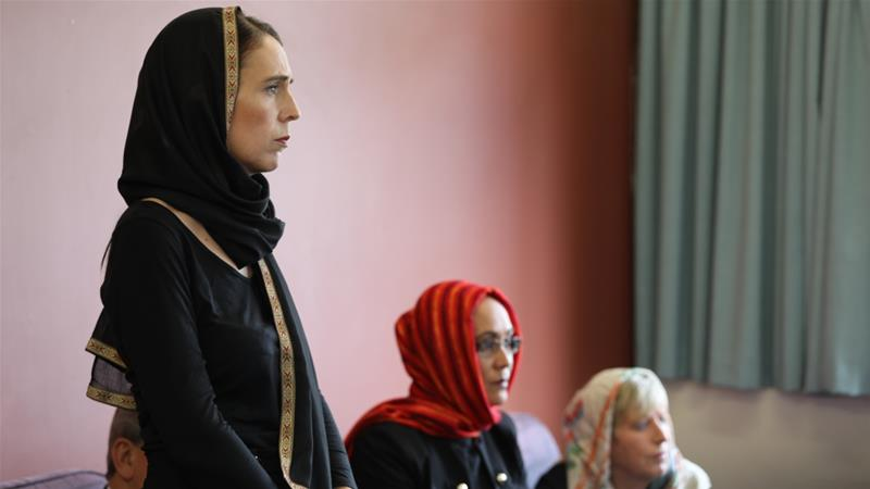 New Zealanders pay tribute to mosque shooting victims