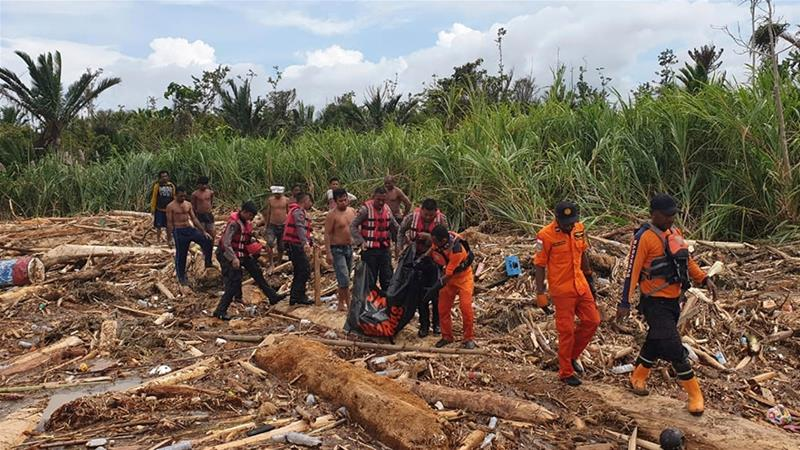 At least 42 dead in floods in Indonesia's Papua